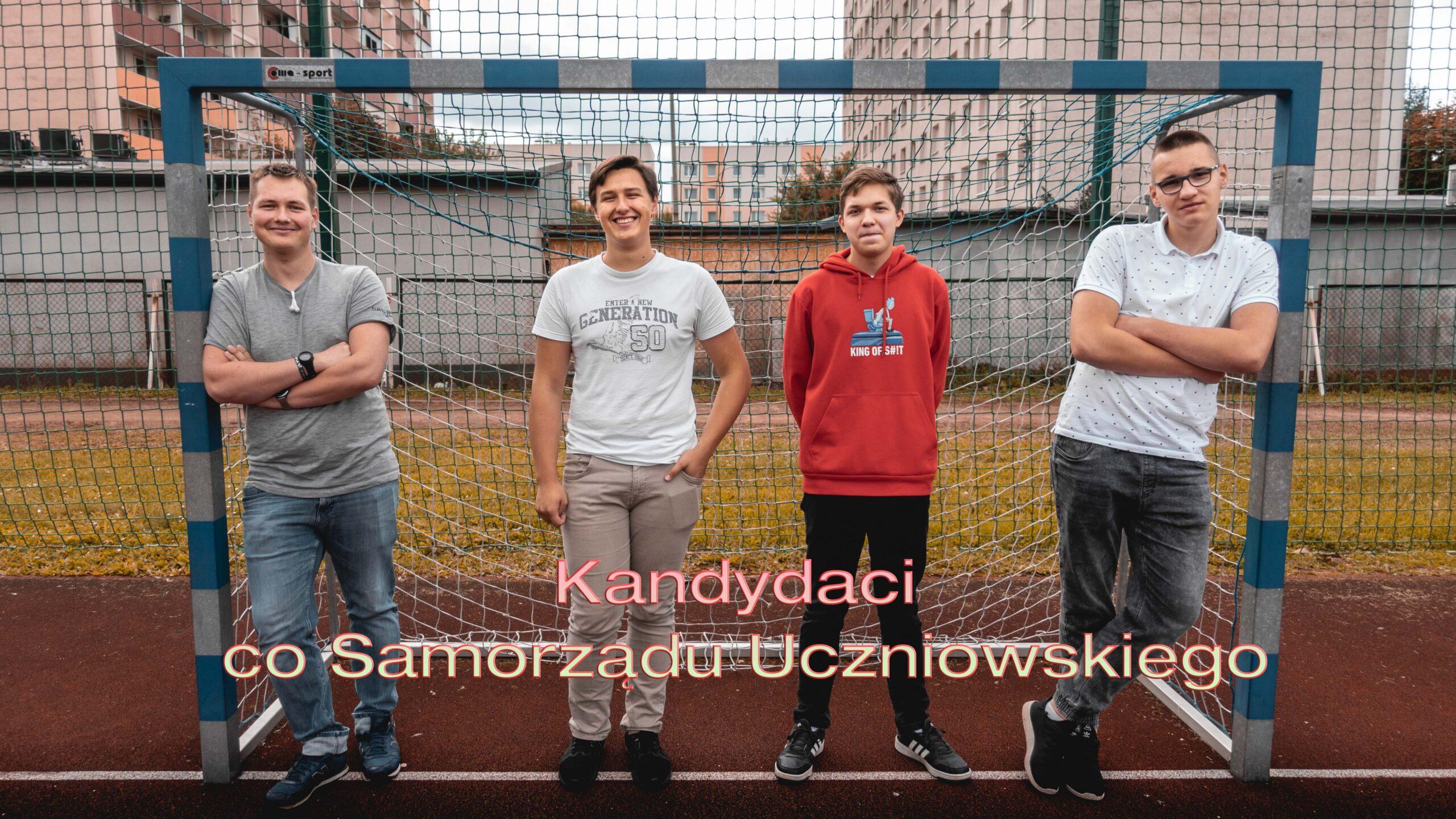 Kandydaci do Samorządu Uczniowskiego