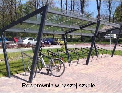 Rowerownia w naszej szkole