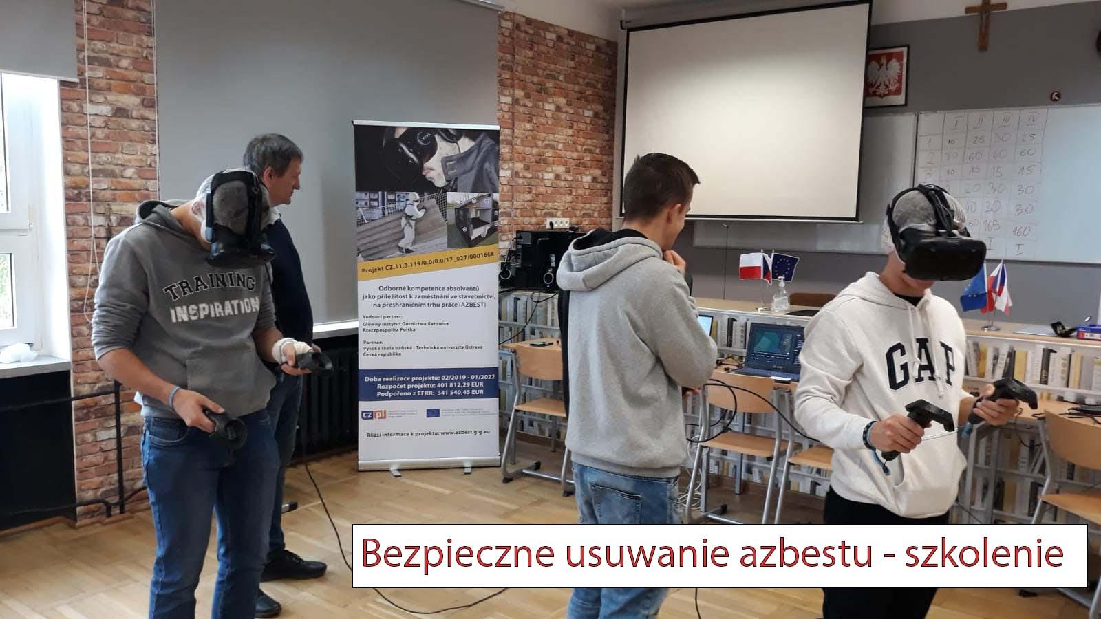 Bezpieczne usuwanie azbestu - szkolenie